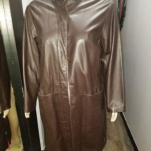 Jackets & Blazers - Leather coat